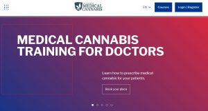 Medical Cannabis training for doctors contact page